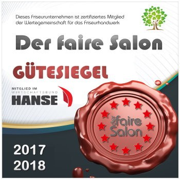 Der faire Salon Siegel